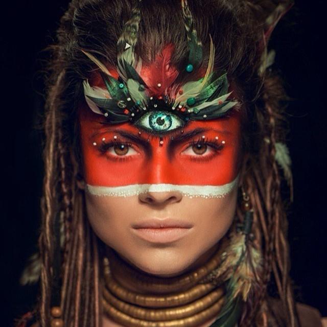 богиня, много рук, бохо, трайбл, этно, третий глаз