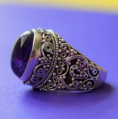 Серебряные кольца из непала