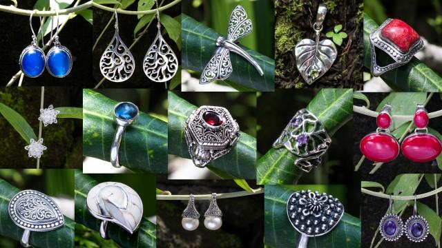 Балийские украшения серебро бали