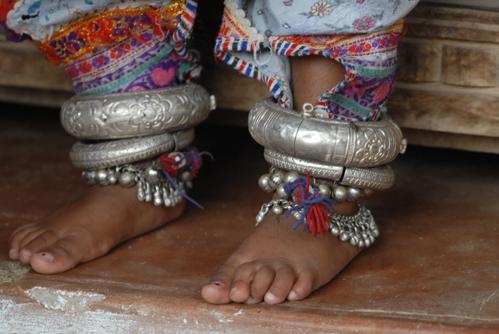 браслет на ногу, браслет с бубенчиками, индийские украшения, этнические украшения, украшения для восточных танцев