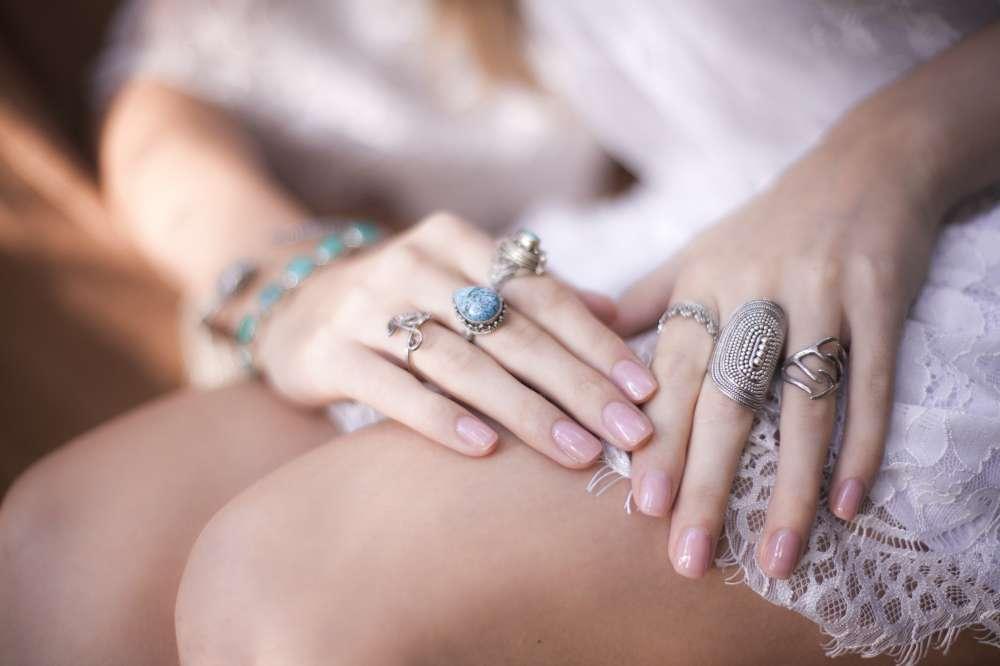 серебряные кольца стиль бохо серебро ручной работы
