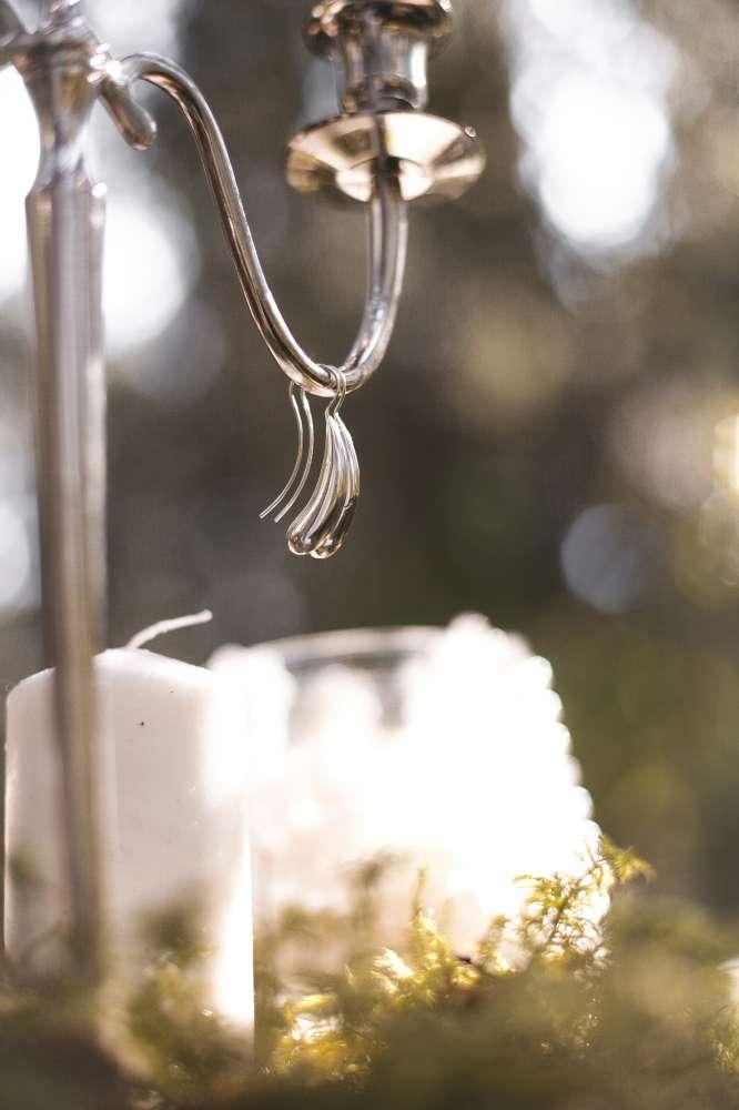 серьги серебро необычные