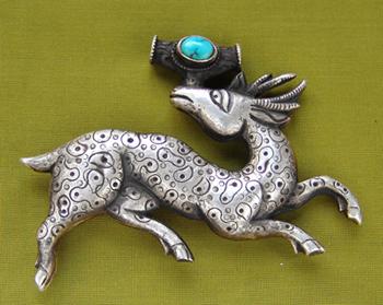 тибетский талисман олень