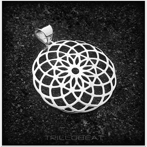 сакральная геометрия торус талисман серебро